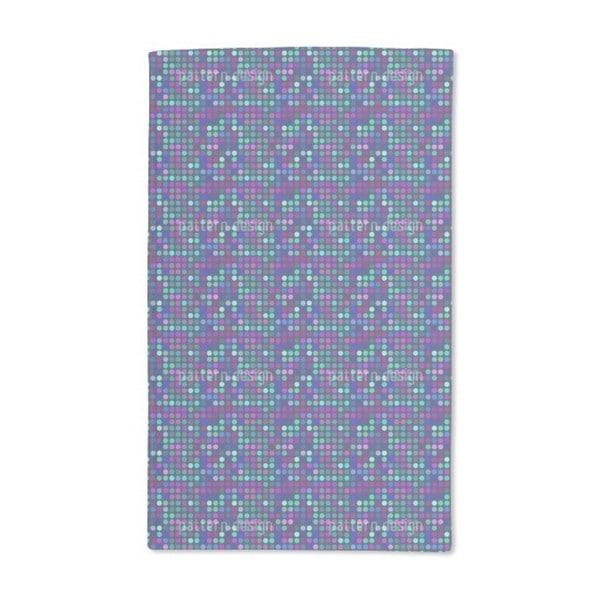 Blue Dot Skyline Hand Towel (Set of 2)