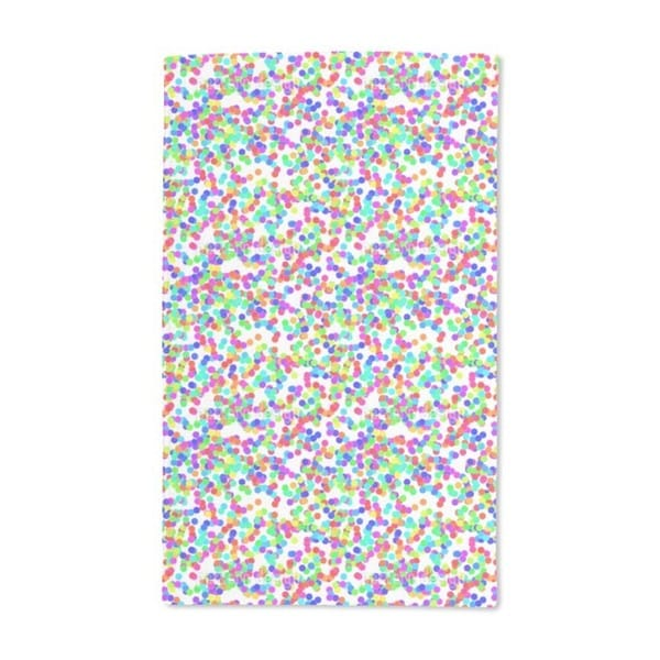 Dazzling Colorful Confetti Hand Towel (Set of 2)