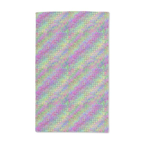 Rainbow in Colored Glass Hand Towel (Set of 2)