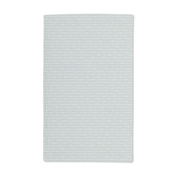 Scale Skin Blue Hand Towel (Set of 2)