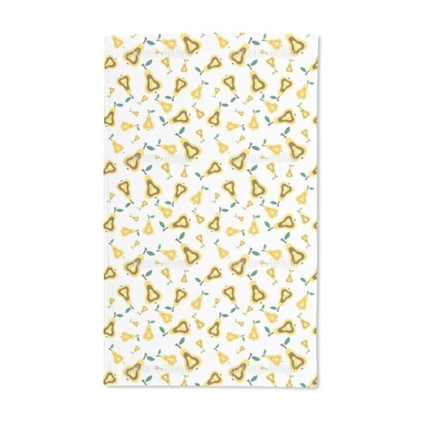 Pear Conspiracy Hand Towel (Set of 2)