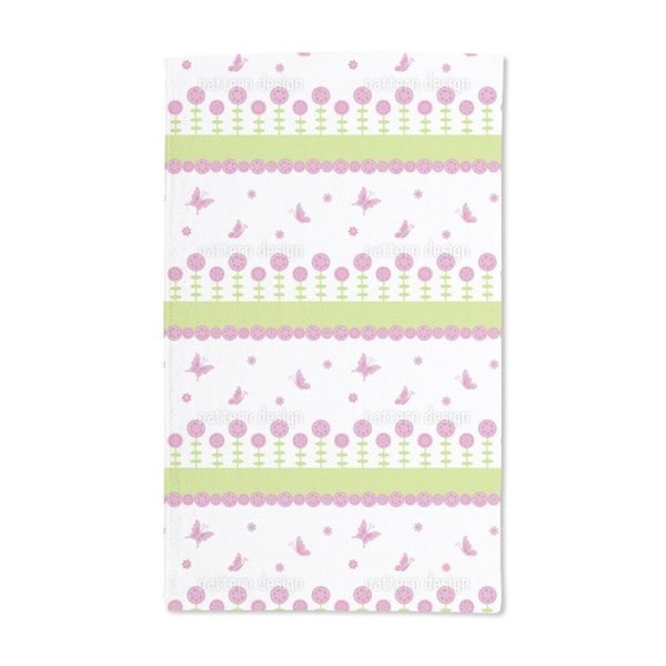 Butterfly Happiness Hand Towel (Set of 2)