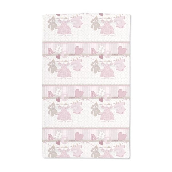 Rosis Mum Has Laundry Day Hand Towel (Set of 2)