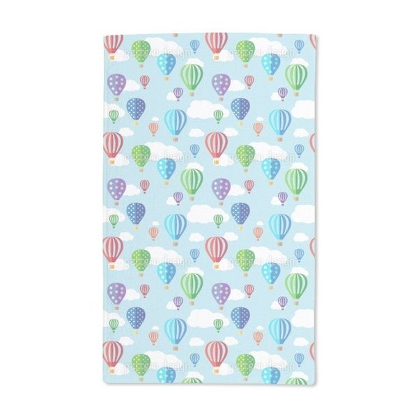 Balloon Riding Hand Towel (Set of 2)