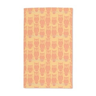 Owl Look Hand Towel (Set of 2)