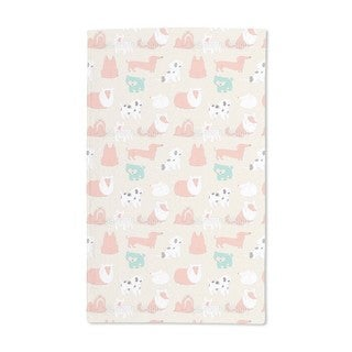 Cute Dogs Hand Towel (Set of 2)