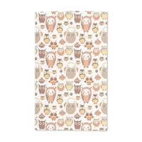 Autumn Owls Hand Towel (Set of 2)
