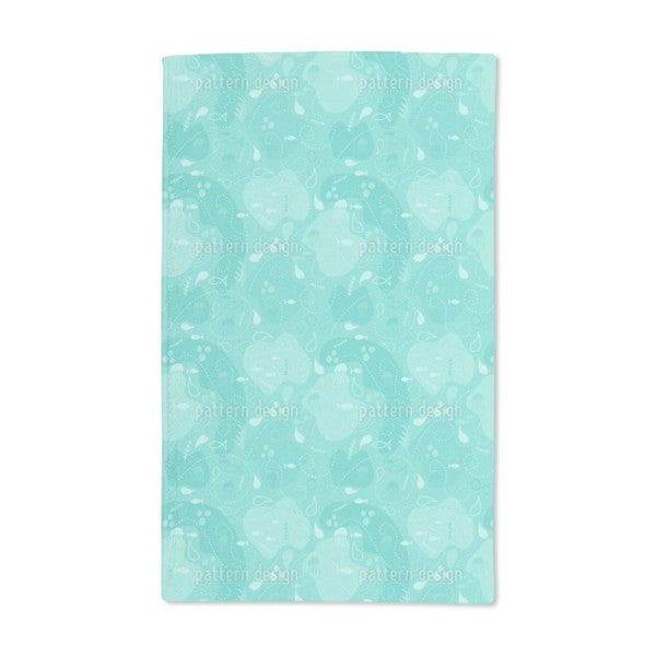 Miros Underwater Patchwork Hand Towel (Set of 2)