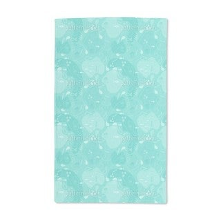 Miros Underwater Patchwork Hand Towel (Set of 2)