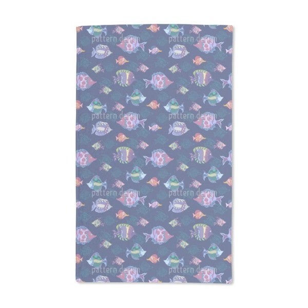 Fish Parade Hand Towel (Set of 2)