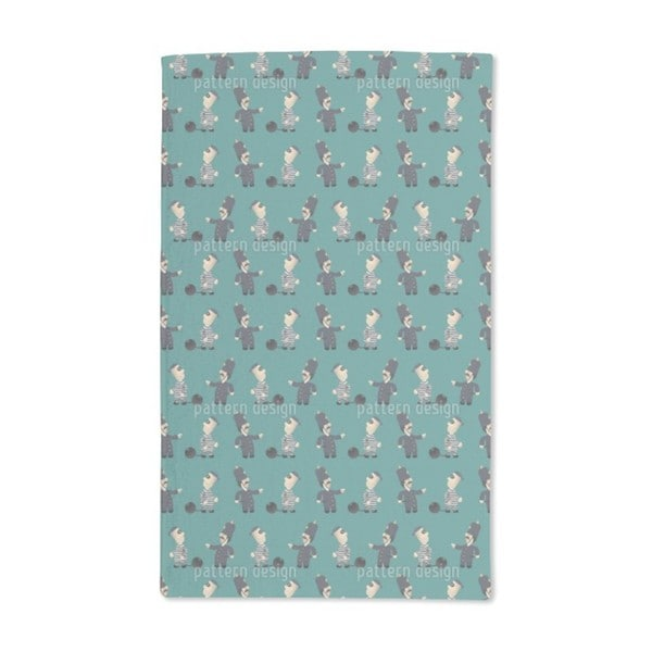 The Policeman and His Convict Hand Towel (Set of 2)