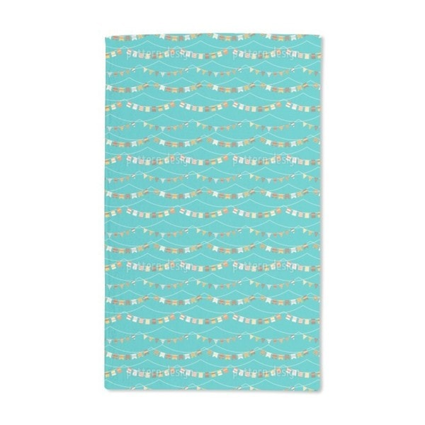 Garlands and Waves Hand Towel (Set of 2)