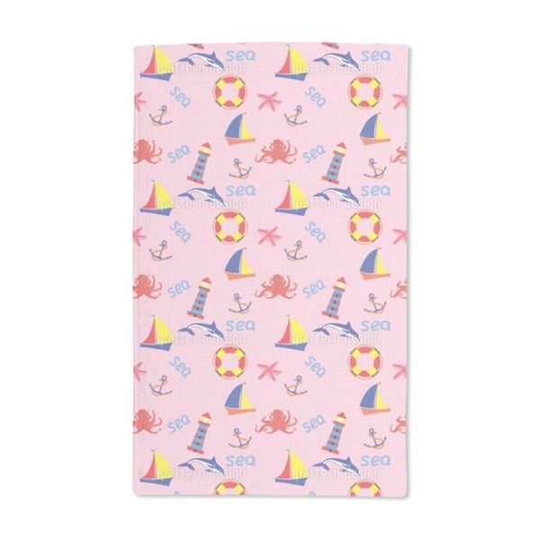 Day at the Seaside Hand Towel (Set of 2)