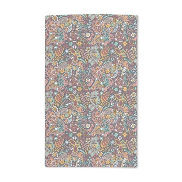 Dreaming of Flowers Hand Towel (Set of 2)