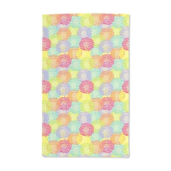 Aster Bloom Hand Towel (Set of 2)