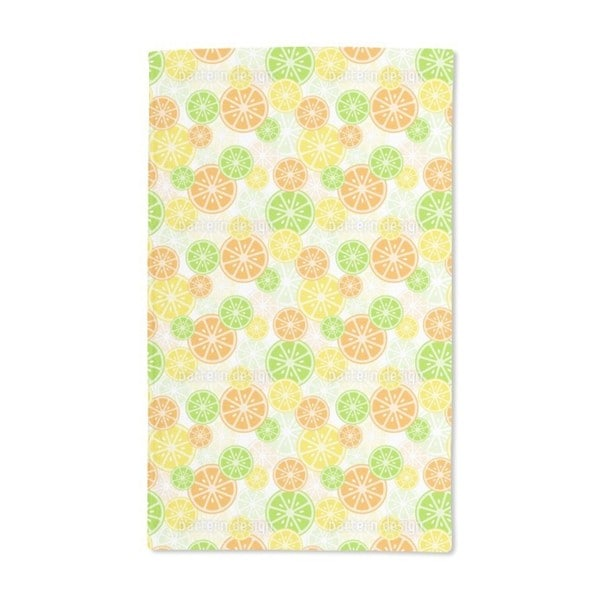 Citrus Zing Hand Towel (Set of 2)