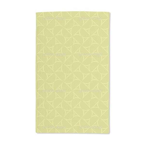 Golden Mood Hand Towel (Set of 2)