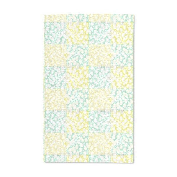Rounded Elements Hand Towel (Set of 2)