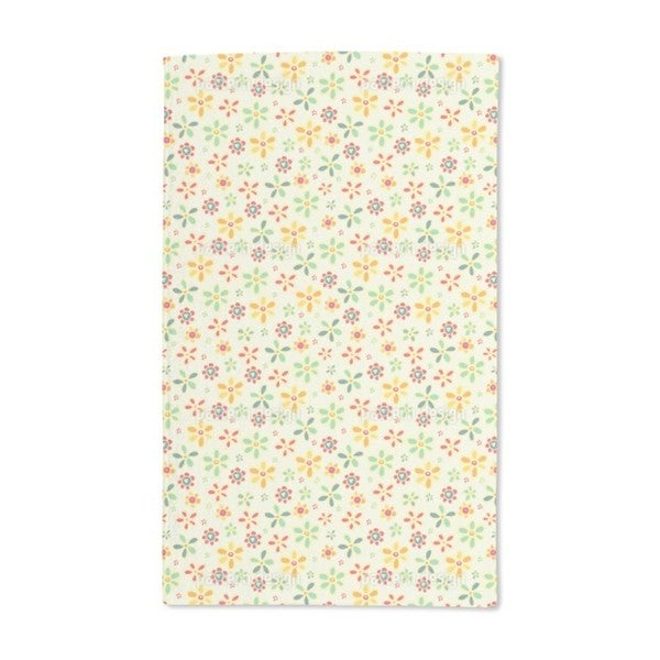 We Love All Flowers Hand Towel (Set of 2)