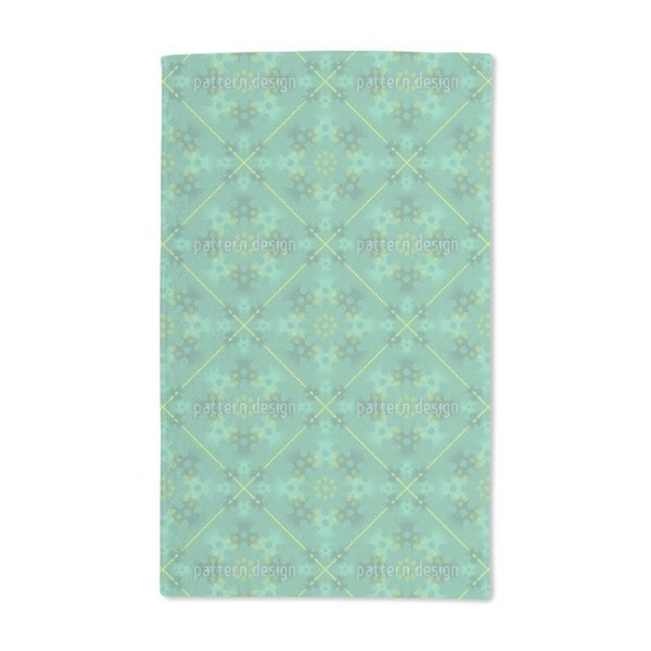 Green Patina Hand Towel (Set of 2)
