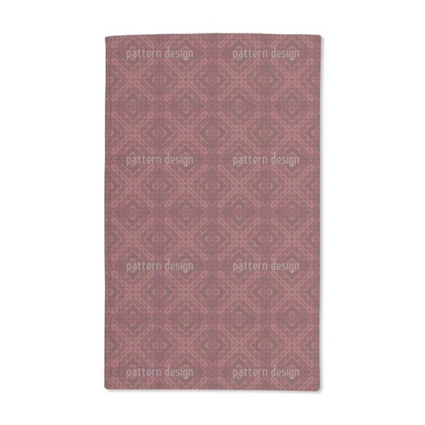 Vulcano Check Hand Towel (Set of 2)
