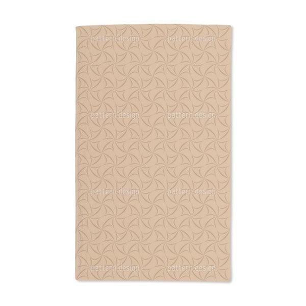 Caramel Crosses Hand Towel (Set of 2)