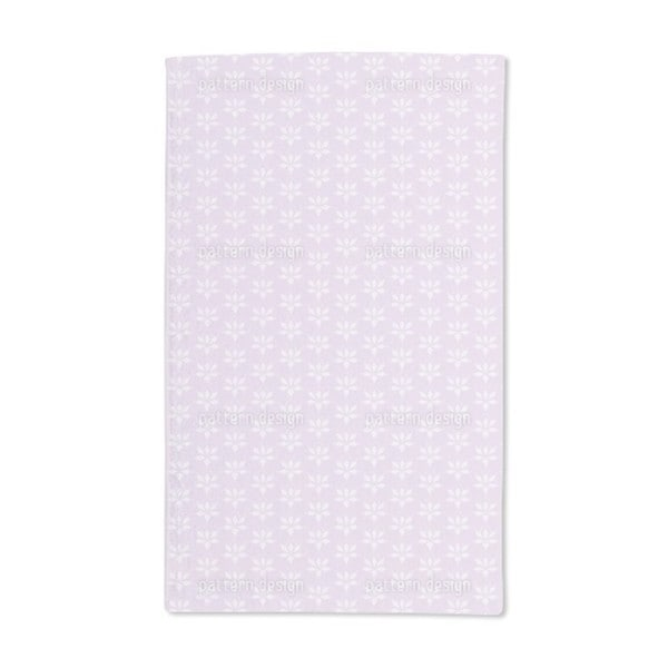 Blossom Drops Lavender Hand Towel (Set of 2)