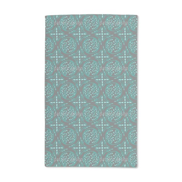 Pintoretto Mint Hand Towel (Set of 2)
