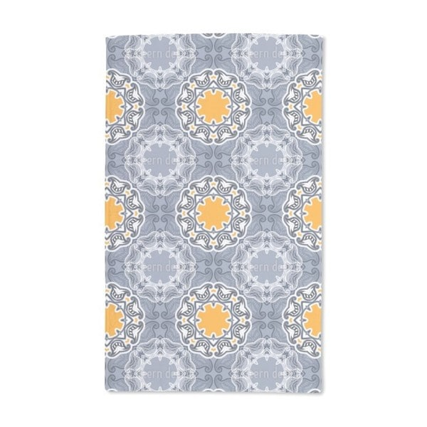 Winter Sun Floral Hand Towel (Set of 2)