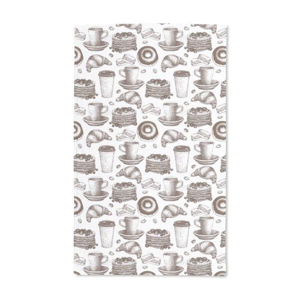 Vintage Coffee Break Hand Towel (Set of 2)