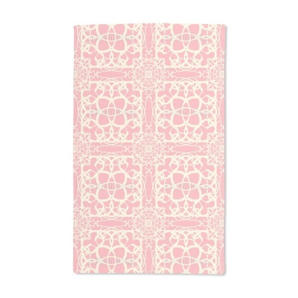 Delicate Lace Hand Towel (Set of 2)