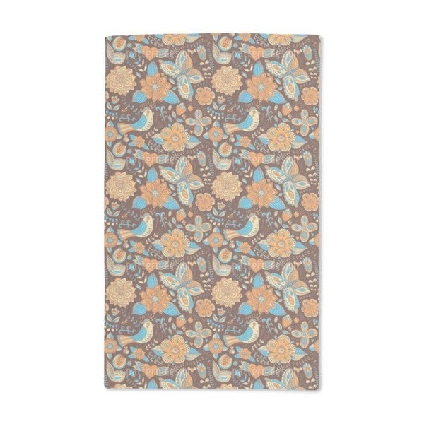 Fauna and Flora in Autumn Hand Towel (Set of 2)