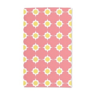 Flower Dots Hand Towel (Set of 2)
