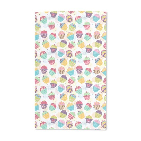 Muffins For Sweet M Hand Towel (Set of 2)