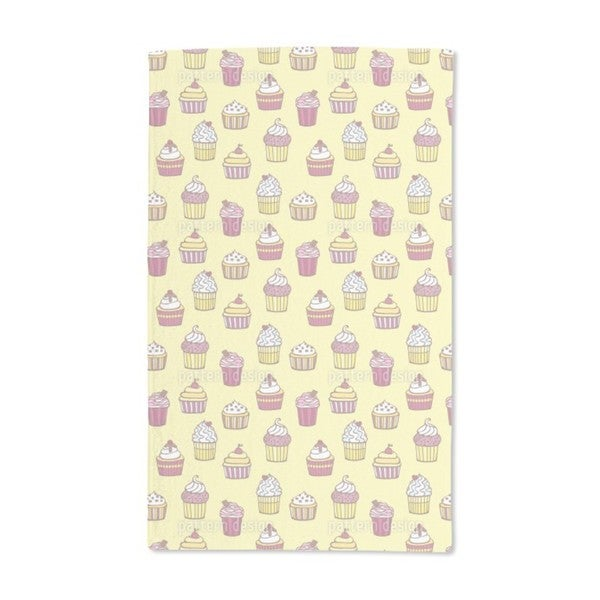 All Kinds of Cupcakes Hand Towel (Set of 2)