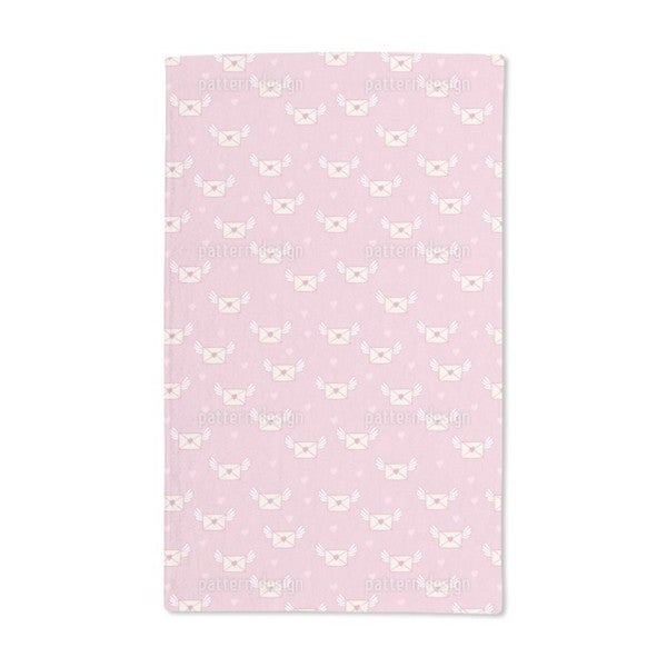 O Dear Love Letters Hand Towel (Set of 2)