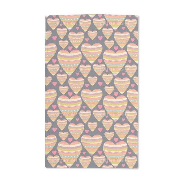 Heart and Soul Hand Towel (Set of 2)