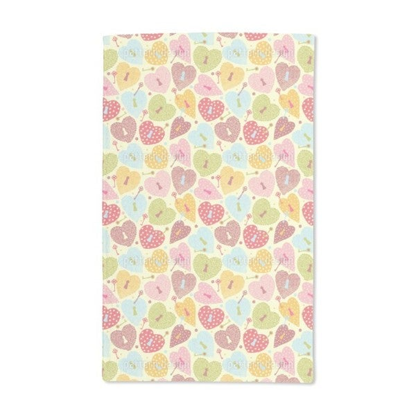 Heart Castles Hand Towel (Set of 2)