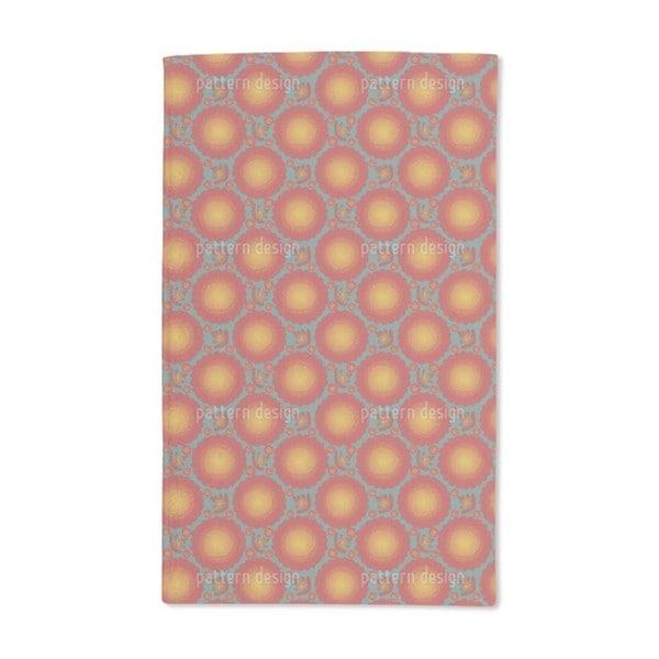 Marigold Flowers Hand Towel (Set of 2)