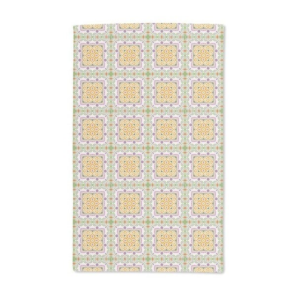 Oriental Tile Hand Towel (Set of 2)