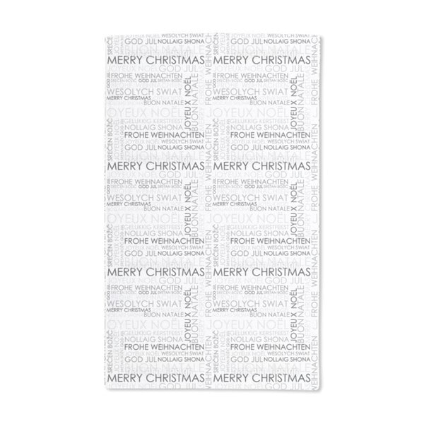 Christmas Wishes Hand Towel (Set of 2)