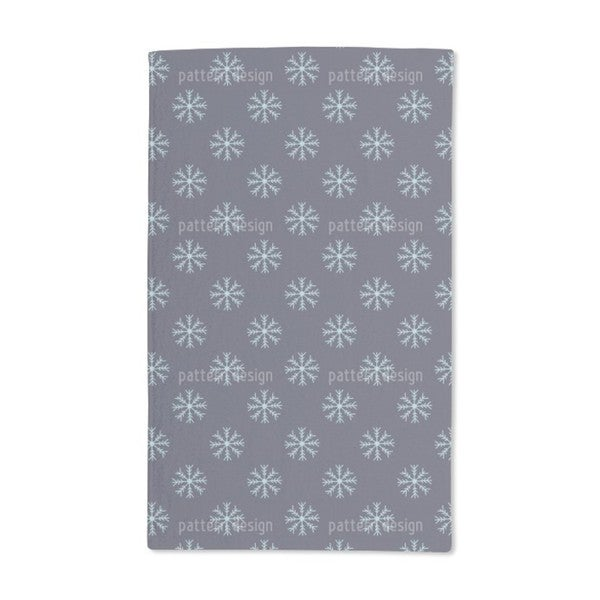 Snow Is Falling Hand Towel (Set of 2)
