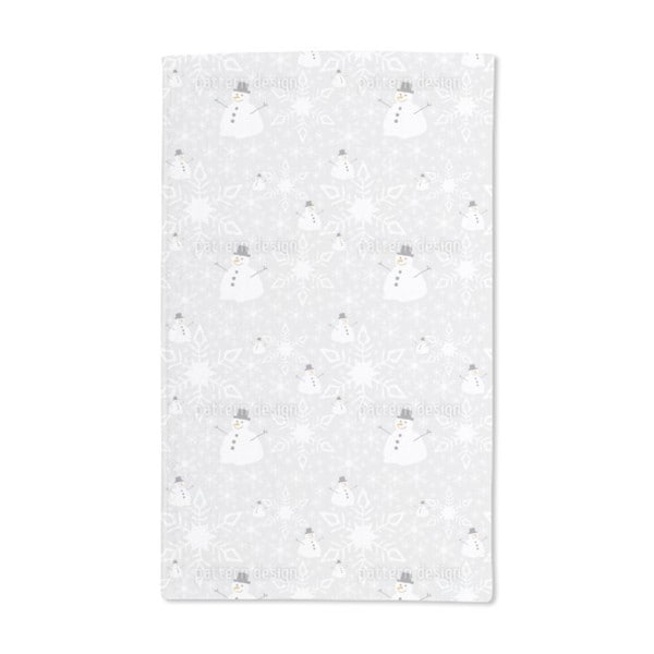 Let It Snow Man Hand Towel (Set of 2)