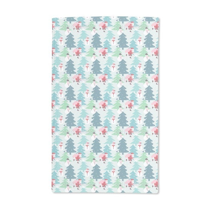 Uneekee Busy Santa Claus Hand Towel (Set of 2) (Busy Sant...
