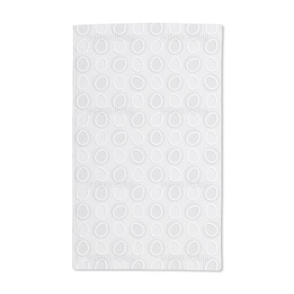 Eggs in Circles Hand Towel (Set of 2)