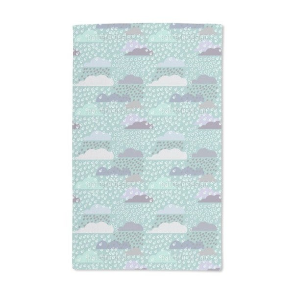 Rainy Day Hand Towel (Set of 2)