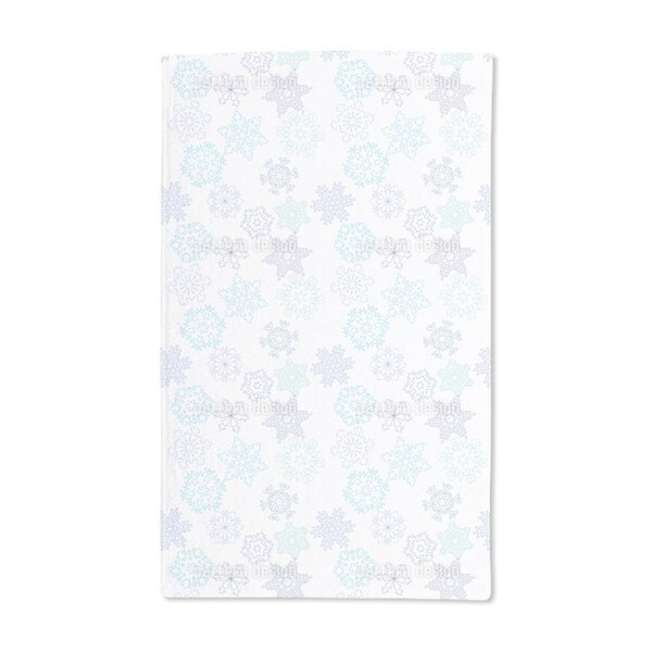 Paper Cut Snowflake Hand Towel (Set of 2)