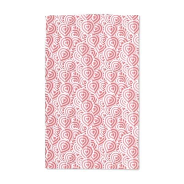 Campionos Heart Fold Hand Towel (Set of 2)