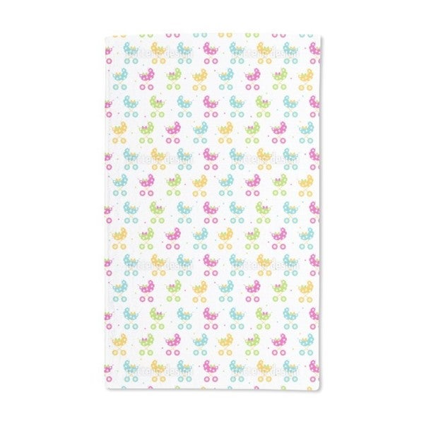 Stroller Fun Hand Towel (Set of 2)