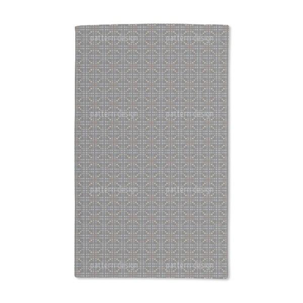 Bar Braced Black Hand Towel (Set of 2)